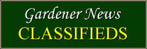Gardener News Classifieds