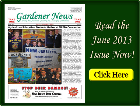 Read the June 2013 issue of the Gardener News