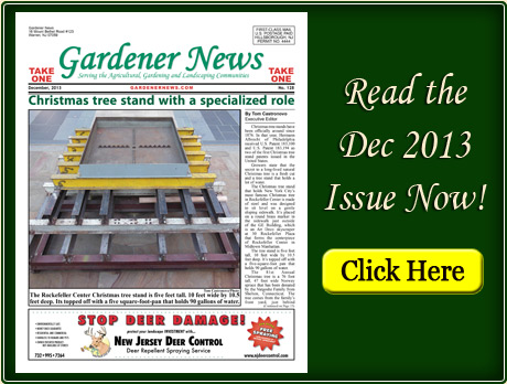 Read the December 2013 issue of the Gardener News