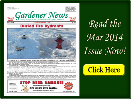 Read the March 2014 issue of the Gardener News