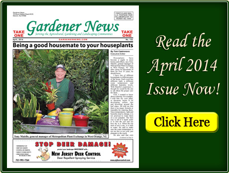 Read the April 2014 issue of the Gardener News