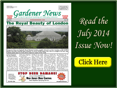 Read the July 2014 issue of the Gardener News