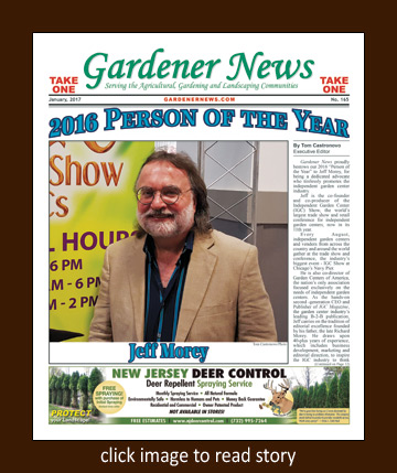 Gardener News 2016 Person of the Year