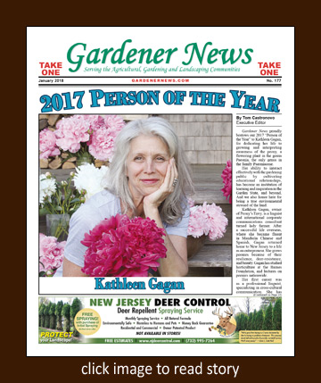 Gardener News 2017 Person of the Year
