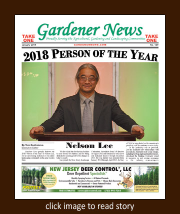 Gardener News 2018 Person of the Year